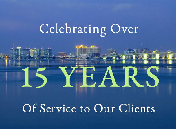 Celebrating 10 Years of service to Sarasota